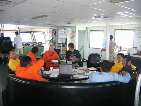 Operation Daily Progress Meeting