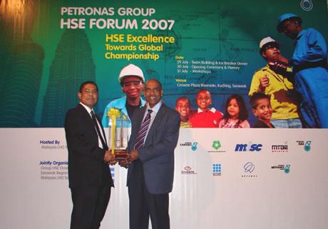 Petronas HSE Award