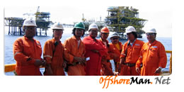 Offshore oil and gas offshoreman