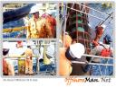 offshoreman working in offshore contract construction