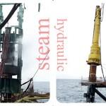 offshore piling steam hammer menck hydraulic hammer